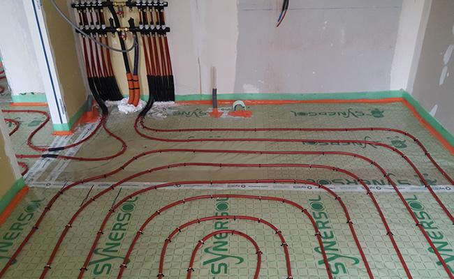 installation de plancher chauffant hydraulique rouen et. Black Bedroom Furniture Sets. Home Design Ideas